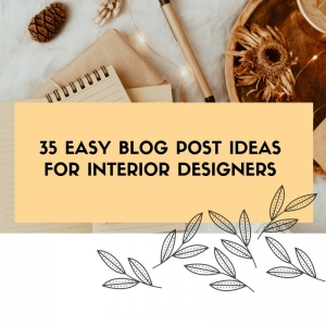 interior design blog post ideas