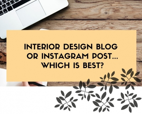 Interior Design blogs and instagram