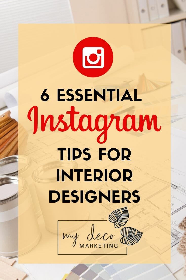 Instagram for interior designers