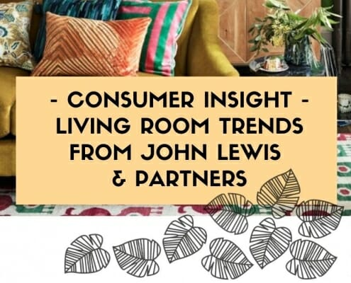 Living room trends report from JohnLewis