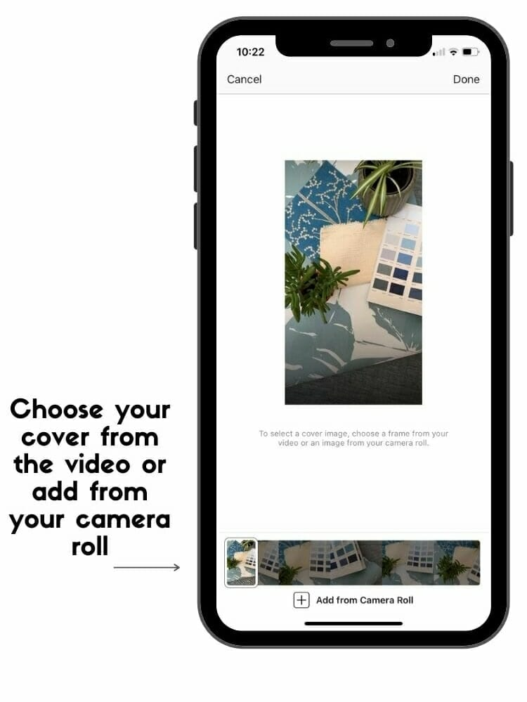 how to publish instagram reels