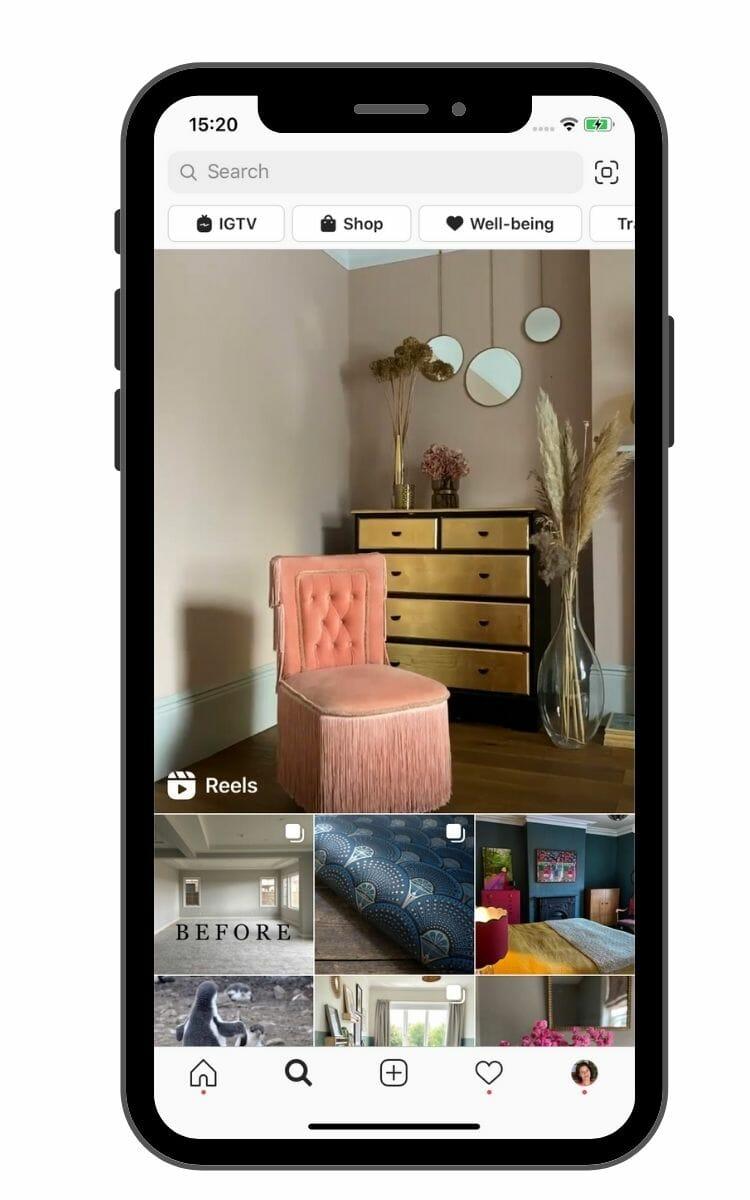 Instagram reels explore