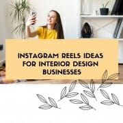 instagram reels for interior design businesses