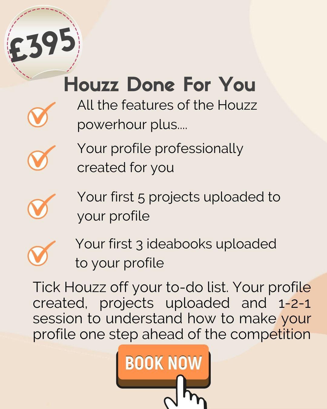 Houzz Marketing for Interior Designers