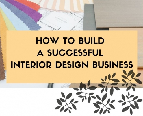 successful interior design business