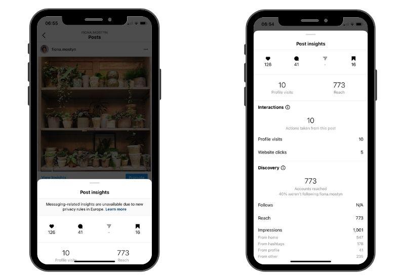 social media for interiors